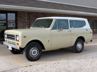 1977 Scout II Traveltop 4x4