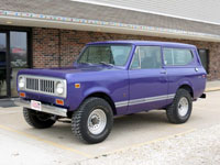 1974 Scout II Traveltop 4x4