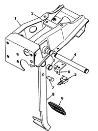 Brake Pedal and Linkage