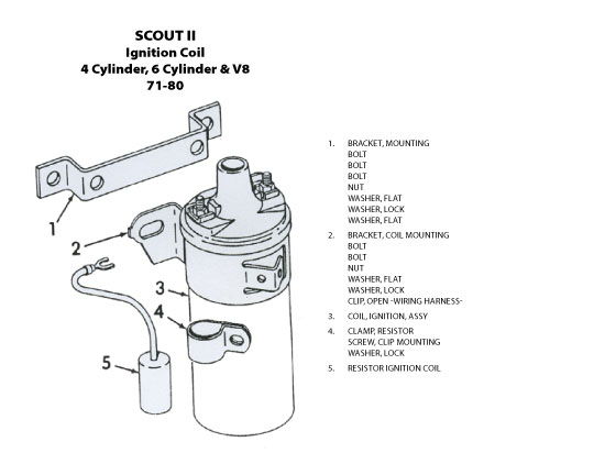 bronco ii ignition wiring schematics scout connection electrical system page